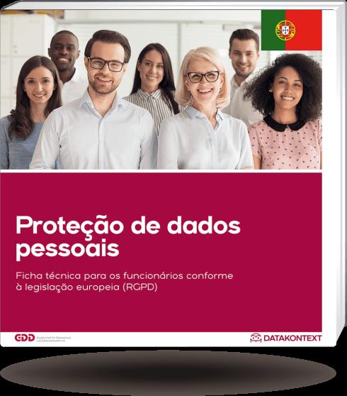 Mitarbeiterinformation Datenschutz (portugiesische Ausgabe)