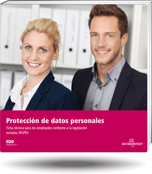 Mitarbeiterinformation Datenschutz (spanische Ausgabe)