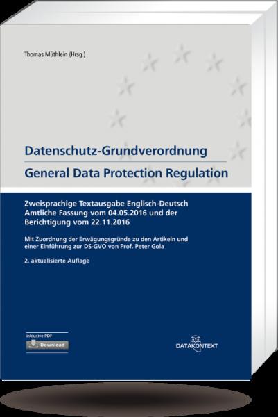 Datenschutz-Grundverordnung – General Data Protection Regulation