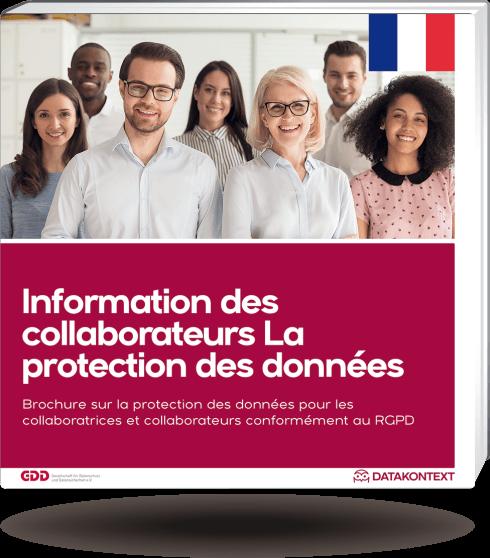 Mitarbeiterinformation Datenschutz (französische Ausgabe)